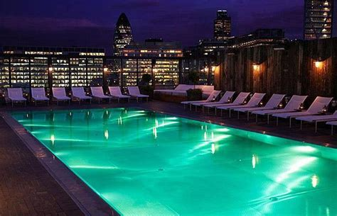 rooftop swimming pool london   Home Designs Project
