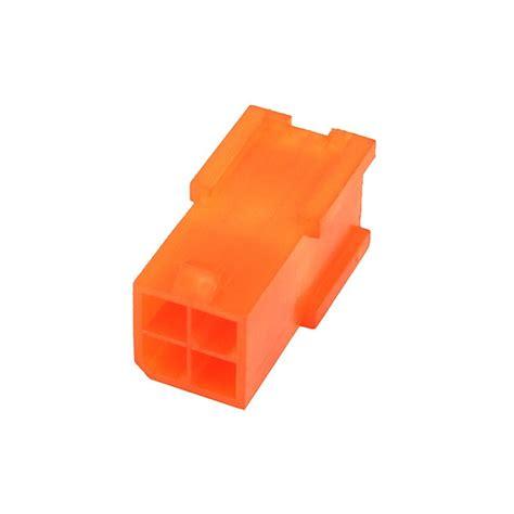 4 pin uv l connector mod smart 4pin p4 atx connetor plug uv brite orange m