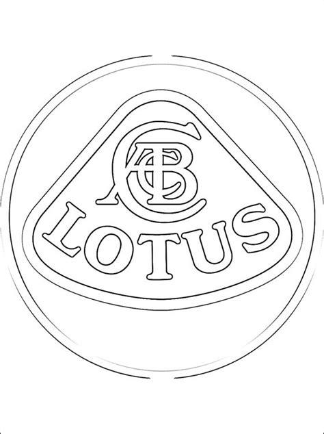 logo lotus da colorare disegni da colorare gratis