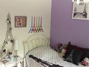 chambre deco style paris visuel 1 With decoration paris pour chambre