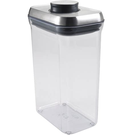 oxo cuisine oxo stainless steel food container in kitchen canisters