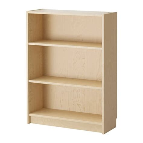 Birch Bookcases by Billy Bookcase Birch Veneer Ikea