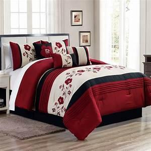 Unique, Home, Manisa, 7, Piece, Comforter, Set, Flower, Floral, Bed