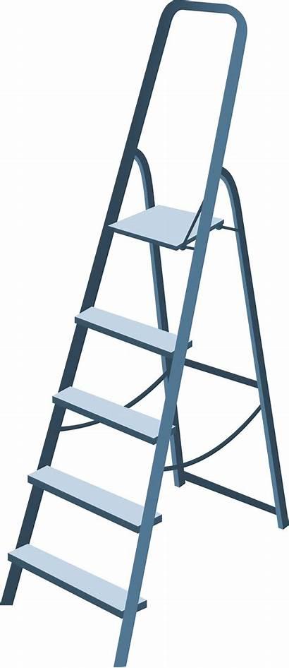 Ladder Step Clipart Stepladder Clip Transparent Miscellaneous