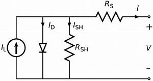 File Solar Cell Equivalent Circuit Svg