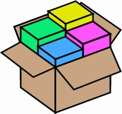 Bundle Package Box Clipart Clip Clker Packages