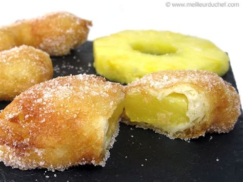 cuisines destockage beignet à l 39 ananas notre recette illustrée