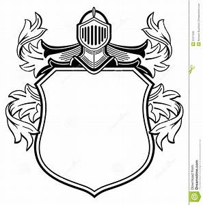 Templates clipart heraldic - Pencil and in color templates ...