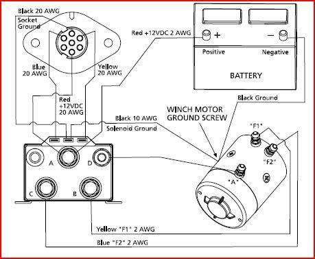Warn Winch Xdi Wiring Diagram Parts