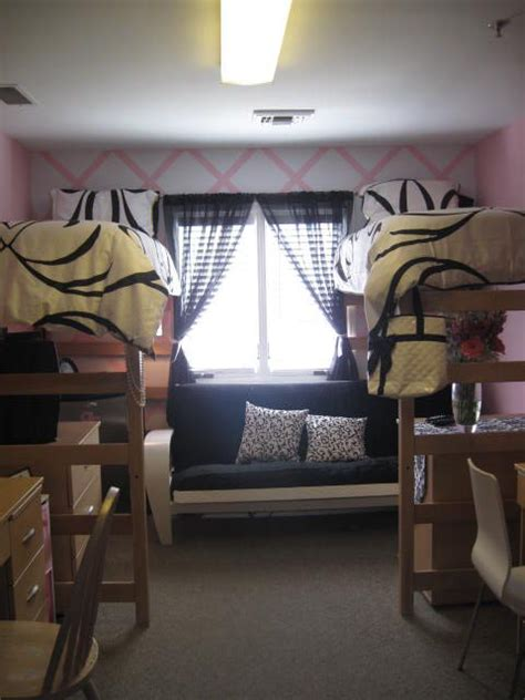 Black  White Dorm Room Decorating Ideas Google Search