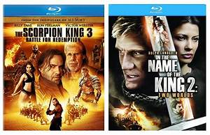 Moviestvgames Blu Ray Review The Scorpion King 3 U0026 In