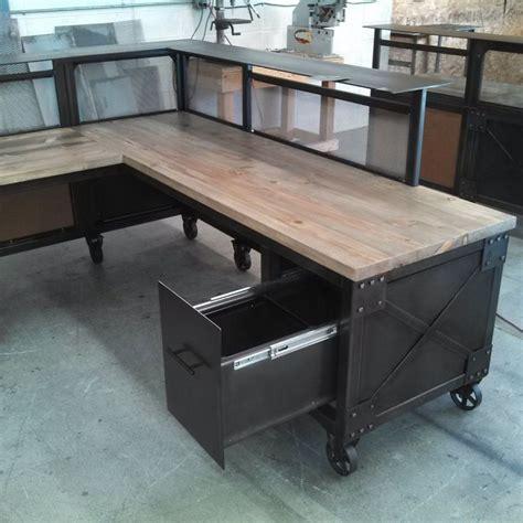 office furniture metal desk best wood and metal desk ideas on pinterest painted metal