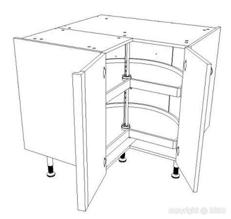 element d angle cuisine meuble bas d 39 angle pour cuisine équipée largeur 90 cm x 90 cm