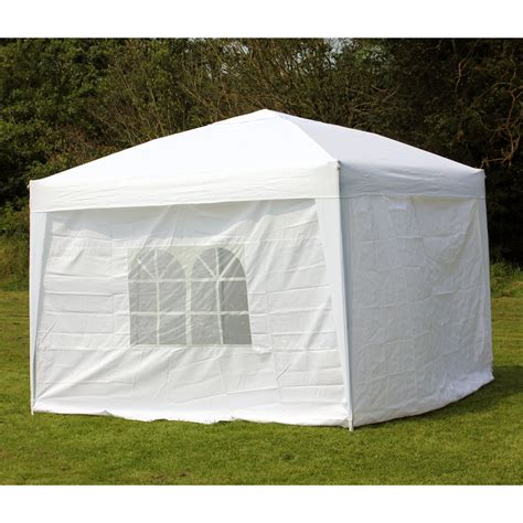 10 x 10 canopy with walls 10 x 10 palm springs ez pop up canopy gazebo tent with 4