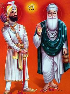 guru, nanak, dev, saheb, and, guru, gobind, singh, maharaj, , the