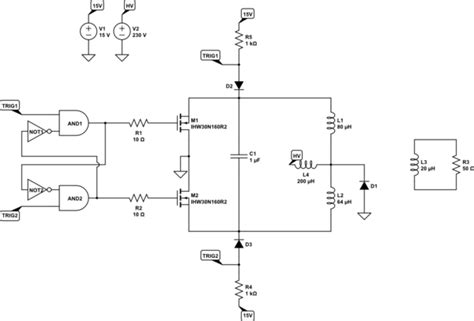 oscillator how to den a royer oscillating power circuit electrical engineering stack exchange