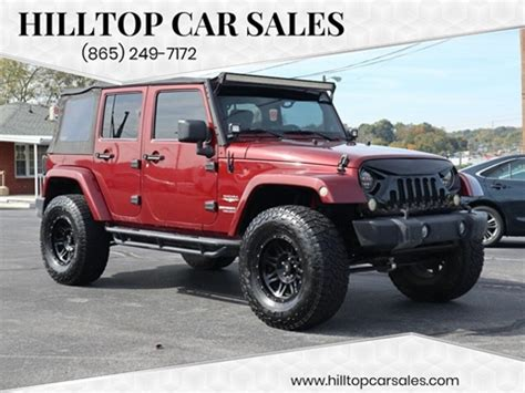 jeep wrangler  sale  knoxville tn carsforsalecom