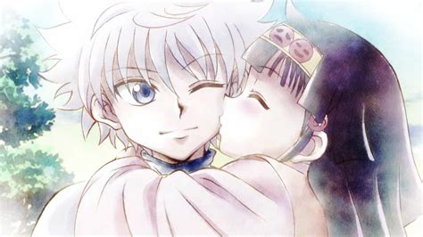 anime kiss hunter x hunter hunter x hunter 1858584 zerochan