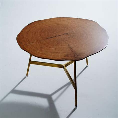 west elm end table end grain coffee table west elm