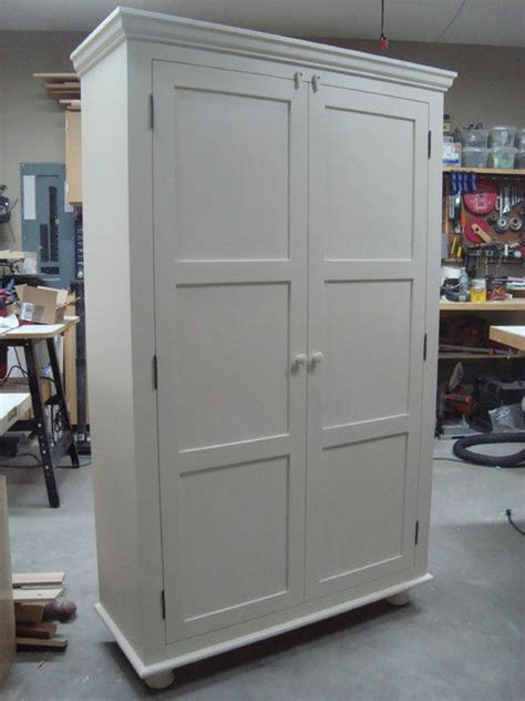 Freestanding Pantry Closet Best 25 Armoire Pantry Ideas On Kitchen