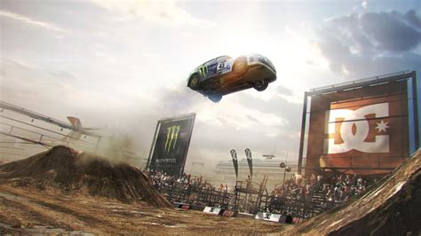 wallpaper  dirt car jump show