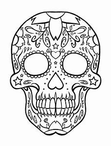 Girl Skulls Coloring Pages Free Printable Graffiti ...