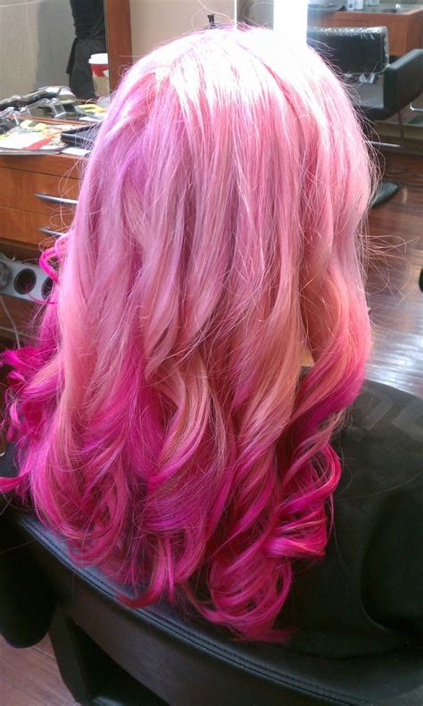 46 Best Pink Hair Images On Pinterest Colourful Hair