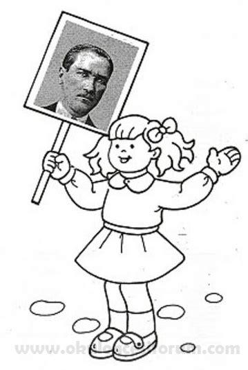 Atatürk Haftası Boyama Resimlere Göre Ara Red