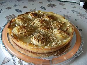 Apfelkuchen Rezept mit Pudding fein gebacken, geht schnell