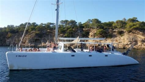 Small Boat Hire Ibiza by Catamaran Hire Ibiza 80 Boat Ibiza