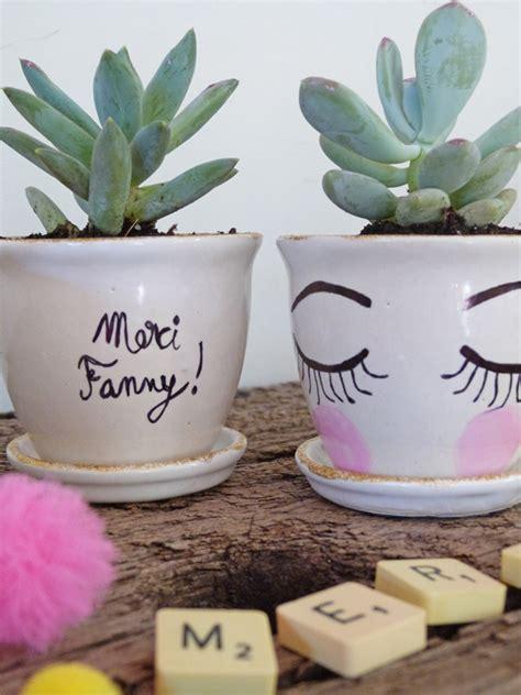 pot de d 233 part mini succulentes pour dire merci couture turbulences