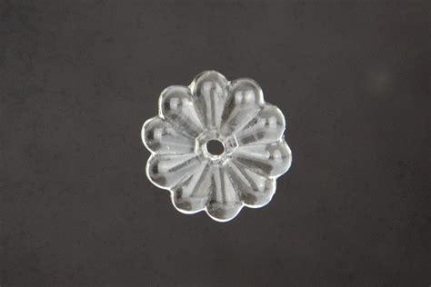 ladari a goccia di cristallo rosetta in vetro vetro nazionale ricambi ladario