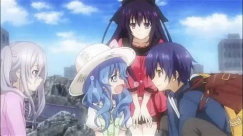 anime date a live dub date a live adorable yoshino cries dub