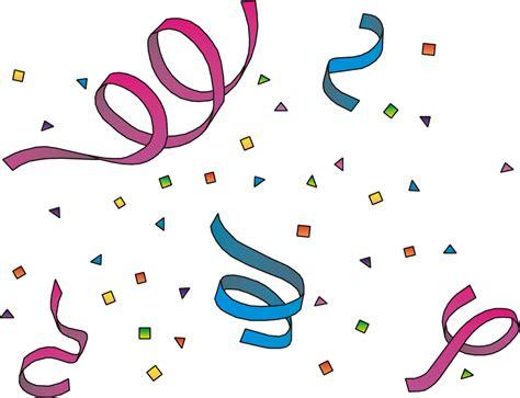 Free Clip Art Celebration Confetti