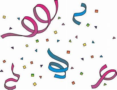 Celebration Clip Clipart Clipartpanda Celebrating Birthday Confetti