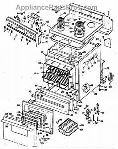 Parts For Ge Jbs260j3  Electric Range Parts