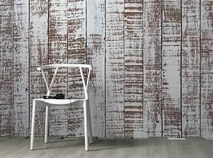 Tappezzeria d'arredo e carta da parati effetto legno così belle che sembra VERO LEGNO Non solo