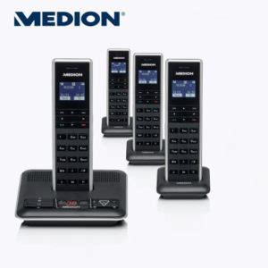 aldi len led medion p63184 md 84369 dect telefon im aldi nord