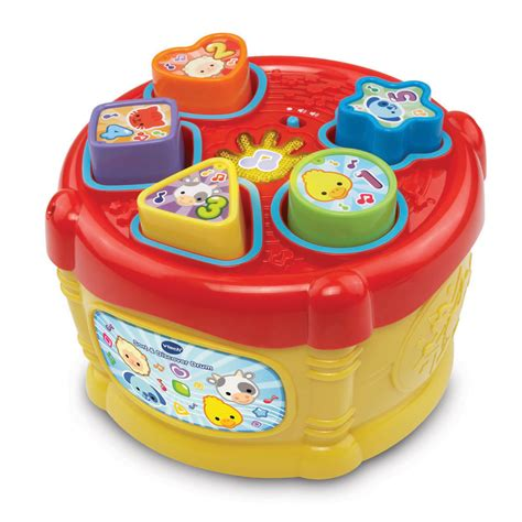 baby bureau vtech vtech sort and discover drum at wilko com
