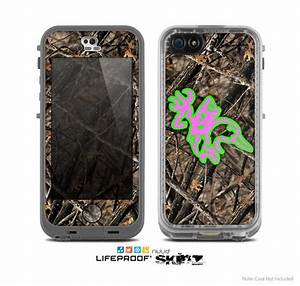 Camo Chevron Print Skin for the iPhone 4/4s or 5 LifeProof ...