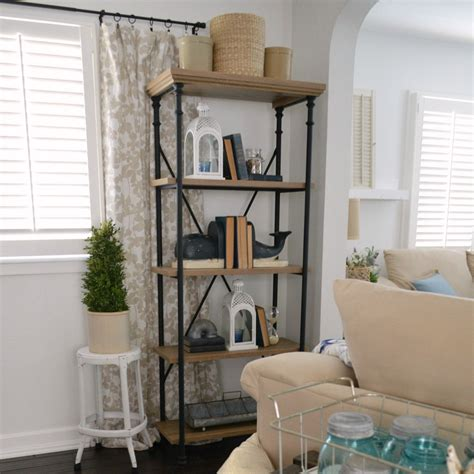 better homes and gardens shelves affordable farmhouse shelves no diy required fox hollow