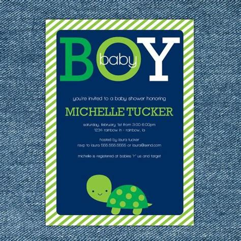 turtle baby shower invitations turtle baby shower invitation printable boy baby shower