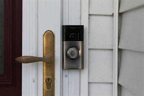 how to install a doorbell with transformer side of the ring video doorbell see who 39 s knocking simple