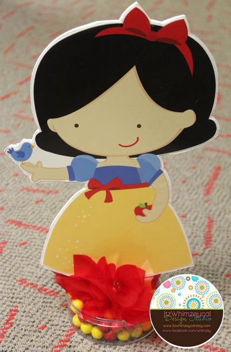 snow white centerpieces large snow white centerpiece with candy base