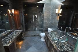 Photo Stone Tile Bathrooms Bathrooms Spas And Stone Tile Showers Contemporary Bathroom