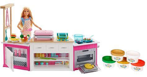 amazon barbie ultimate kitchen    holiday