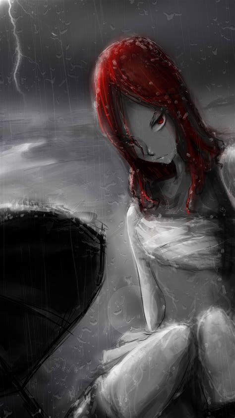 1080x1920 Erza Scarlet Anime Fairy Tail Girl The Tale Of The Fairy Tail Art Desktop