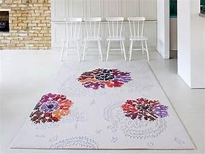 tapis de sol design pour une deco unique design feria With tapis blanc design