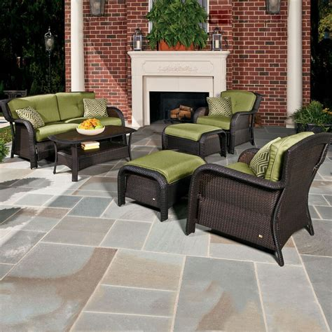 Outdoor Patio Seating by Hanover Outdoor Furniture Strathmere6pc Strathmere 6