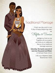 10 african wedding invitations designed perfectly south With african wedding invitations samples